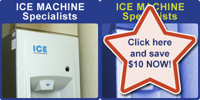 Ice Machine Specialists - Save $10 now!