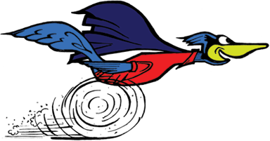 Day's Appliance Road Runner Logo